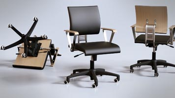 Pavel Zoch pzdm - chair office 3D
