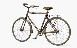 Pavel Zoch pzdm - old bicycle 3D