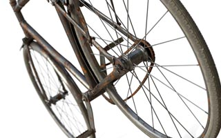 Pavel Zoch pzdm - old bicycle 3D C4D